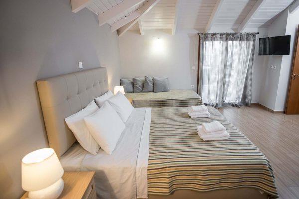 Agios Ioannis Villas Interior Lefkada Master Bedroom