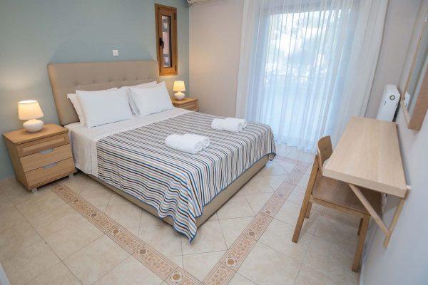 Agios Ioannis Villas Double Bedroom Lefkada